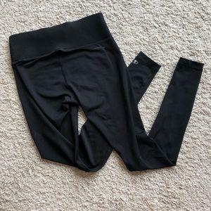 Champion black athletic yoga pants size small